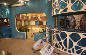 Celeb Big Brother lounge Area