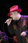 boy george will immediately start his sentence