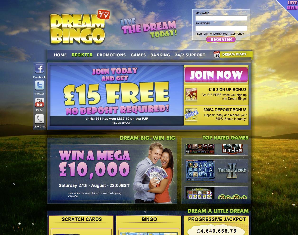 Dream Bingo Casino
