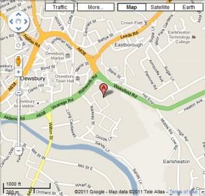 Mecca Bingo DEWSBURY Map and Review one of the UK Bingo Clubs Bingo