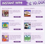 virgin bingo instant win games